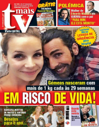 capa TV Mais de 29 dezembro 2017