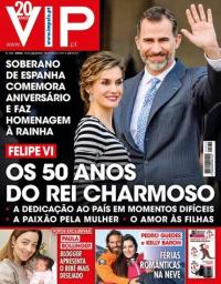 capa VIP de 2 fevereiro 2018