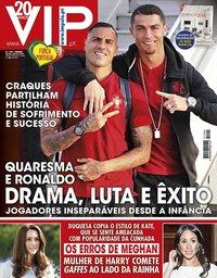 capa VIP de 2 julho 2018