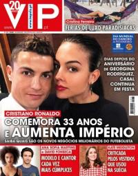capa VIP de 3 fevereiro 2018