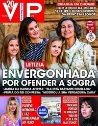 capa VIP de 7 abril 2018