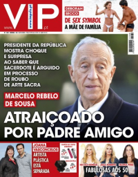 capa VIP de 12 janeiro 2018