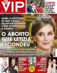capa VIP de 12 novembro 2017
