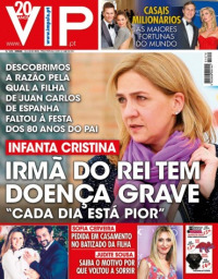 capa VIP de 16 janeiro 2018