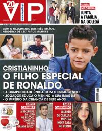 capa VIP de 18 novembro 2017