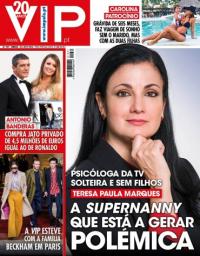 capa VIP de 23 janeiro 2018