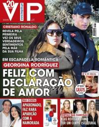 capa VIP de 24 fevereiro 2018
