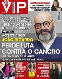 capa VIP de 27 novembro 2017
