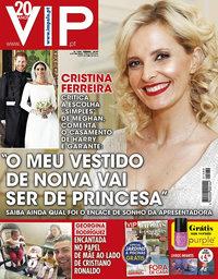 capa VIP de 28 maio 2018