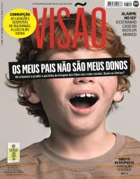capa Visão de 8 fevereiro 2018
