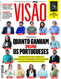capa Visão de 10 maio 2018