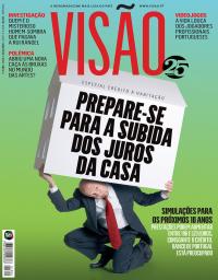 capa Visão de 15 fevereiro 2018