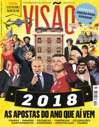 capa Visão de 30 dezembro 2017