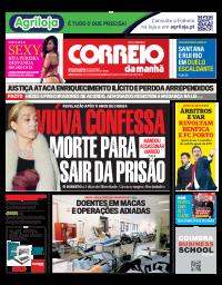 capa Correio da Manhã de 5 janeiro 2018