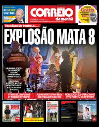 capa Correio da Manhã de 14 janeiro 2018