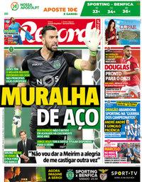 capa Jornal Record de 4 maio 2018