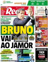 capa Jornal Record de 19 maio 2018
