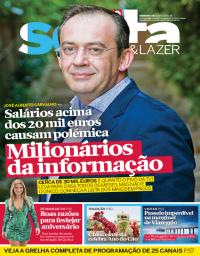 capa Revista Sexta de 16 fevereiro 2018