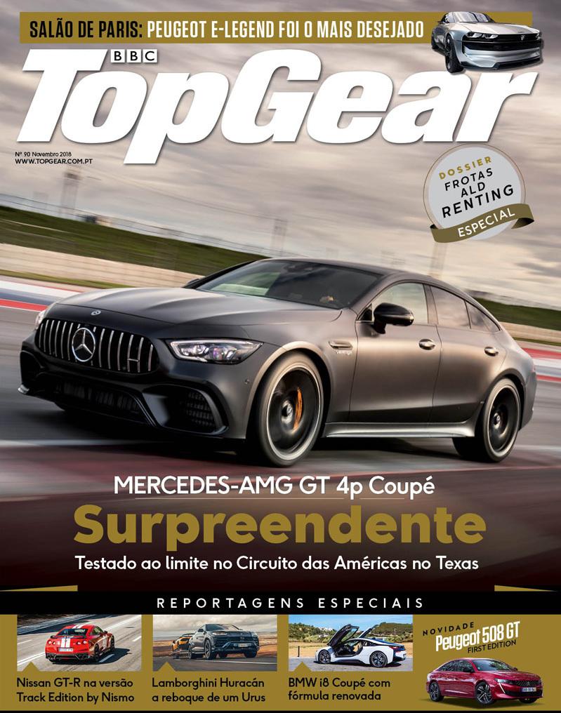 capa Revista Top Gear