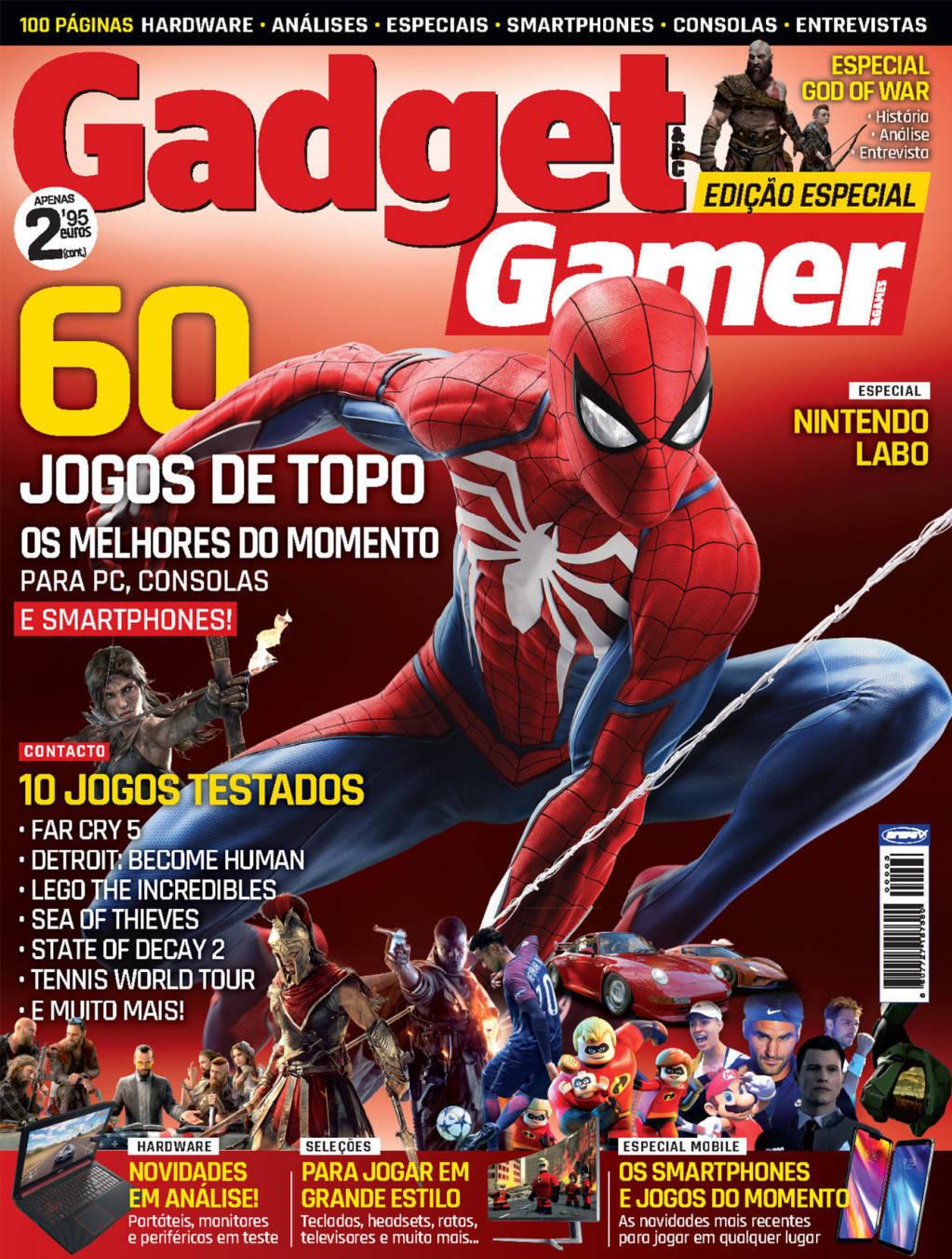 capa Gadget Gamer