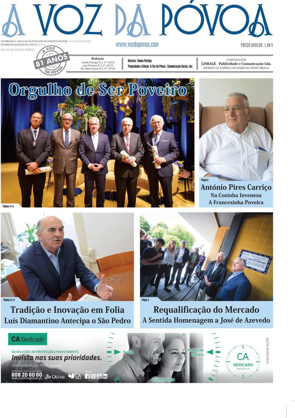 capa Jornal A Voz Da Póvoa