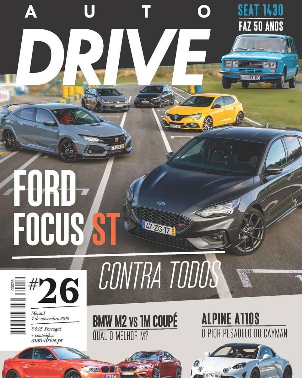 capa Revista Auto Drive