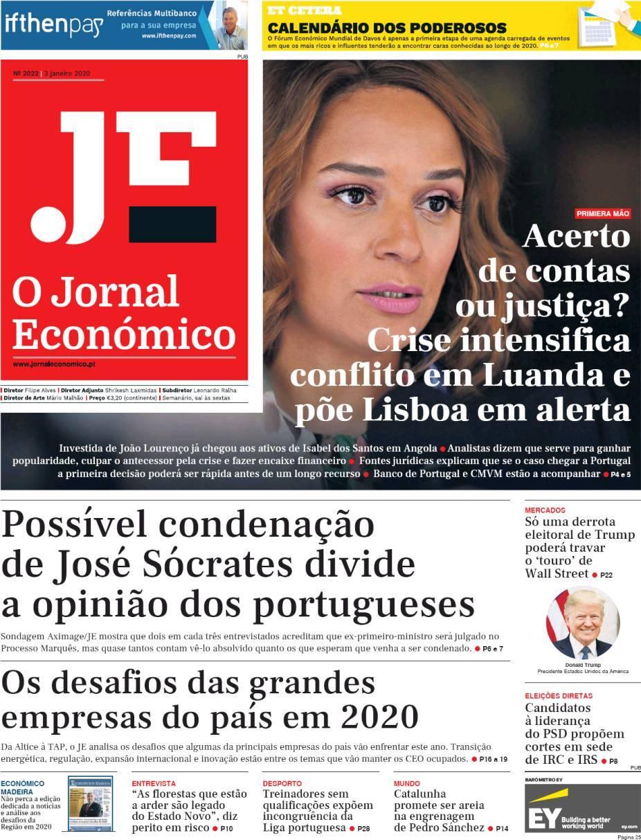 capa Jornal Económico