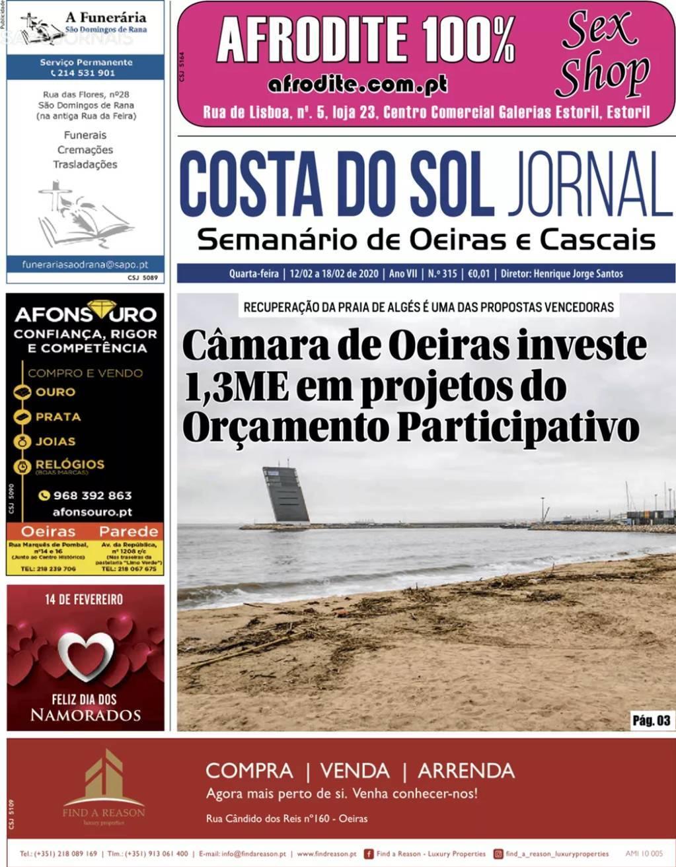 capa Jornal Costa Do Sol