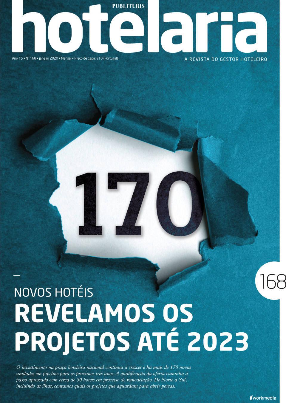 capa Revista Publituris Hotelaria