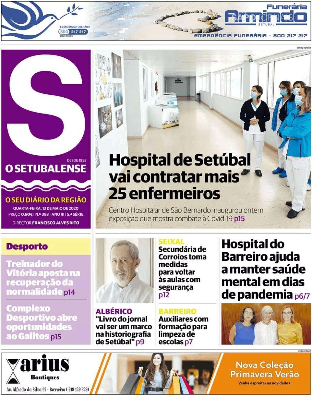 capa Jornal O Setubalense