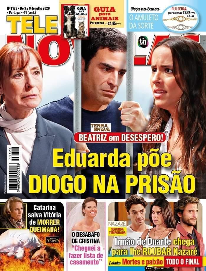 capa Revista Telenovelas