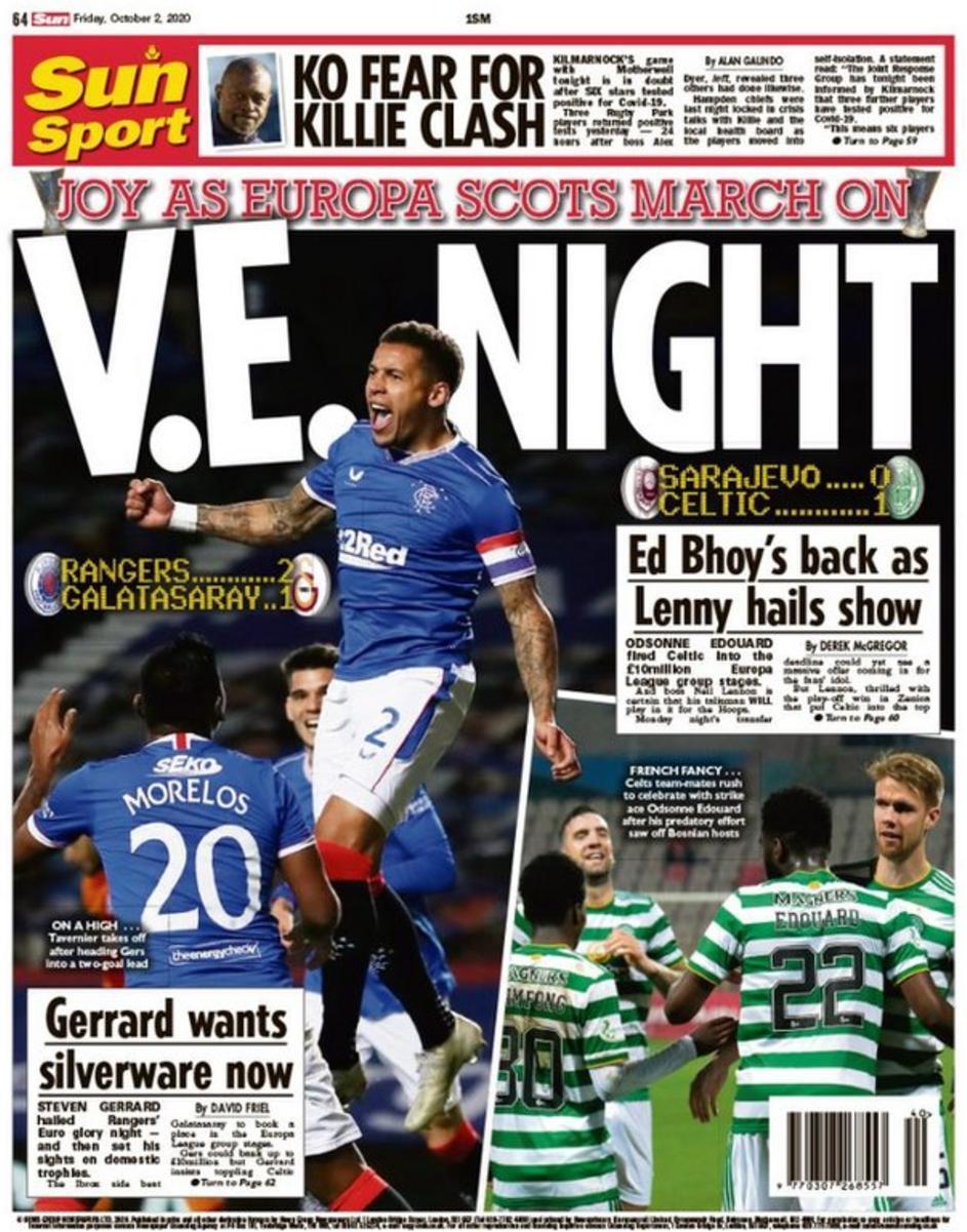 capa Jornal Sun Sport