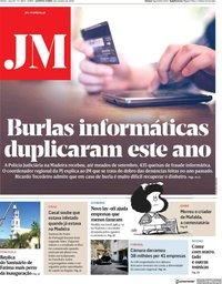 capa Jornal da Madeira
