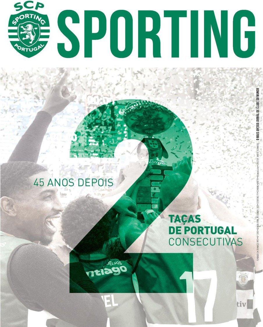 capa Jornal Sporting